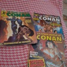 Cómics: LOTE DE 3 CONAN , ESPECIAL NAVIDAD ,44 , 46 Y 50. Lote 294447763