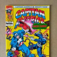 Cómics: CAPITÁN AMÉRICA Nº 10 // MARVEL COMICS, COMICS FORUM 1993. Lote 294450393