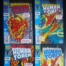Cómics: LA SAGA ORIGINAL HUMAN TORCH COMPLETA. Lote 294506258