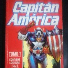 Cómics: CAPITAN AMERICA RETAPADO DEL 1 AL 5. Lote 294506293