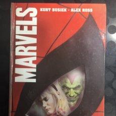Cómics: MARVELS DE KURT BUSIEK Y ALEX ROSS ( 2003 ). Lote 294825493
