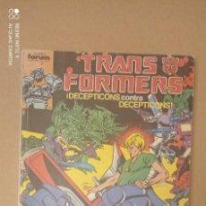 Cómics: TRANSFORMERS, CON LOS NÚMEROS 41-42-43-44. Lote 294866578