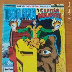 Cómics: IRON MAN / CAPITAN MARVEL Nº 42 - MARVEL TWO-IN-ONE - FORUM (R1). Lote 295033963