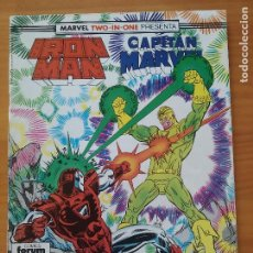 Cómics: IRON MAN / CAPITAN MARVEL Nº 51 - MARVEL TWO-IN-ONE - FORUM (R1). Lote 295034108