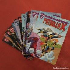 Cómics: PATRULLA X - BIBLIOTECA MARVEL EXCELSIOR - 12 NÚMEROS. COMPLETA.. Lote 295273223