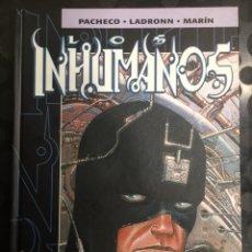 Cómics: LOS INHUMANOS DE CARLOS PACHECO ( 2001 ). Lote 295309273