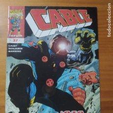 Cómics: CABLE VOLUMEN 2 - Nº 37 - MARVEL - FORUM (GM). Lote 295346713