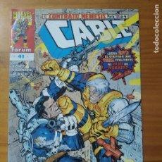 Cómics: CABLE VOLUMEN 2 - Nº 41 - MARVEL - FORUM (GM). Lote 295347128