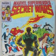 Cómics: MARVEL SUPERHEROES - SECRET WARS - RETAPADO - CONTIENE Nº 11/12/13/14/15 - COMIC. Lote 295409133