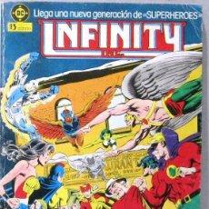 Cómics: INFINITY - NUEVA GENERACION DE SUPERHEROES - RTAPADO - CONTIENE Nº 1/2/3/4/5 - COMIC. Lote 295409968