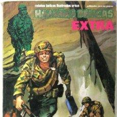 Cómics: HAZAÑAS BELICAS EXTRA - RETAPADO - CONTIENE 10 HISTORIETAS COMPLETAS - COMIC. Lote 295413588