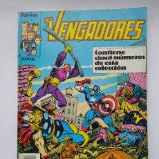 Cómics: LOS VENGADORES - RETAPADO - NUMEROS 66 AL 70. COMICS FORUM. TDK645. Lote 295447223