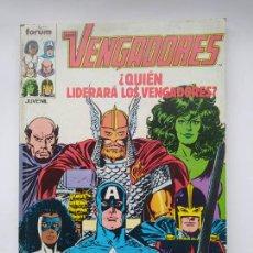 Cómics: LOS VENGADORES - RETAPADO - NUMEROS 71 A 75. COMICS FORUM. TDK645. Lote 295447363