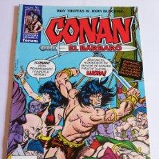 Cómics: CONAN EL BARBARO NUM 71 - BUEN ESTADO. Lote 295476673