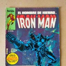 Cómics: EL HOMBRE DE HIERRO: IRON MAN Nº 10 VOL 1 // COMICS FORUM 1985. Lote 295488118