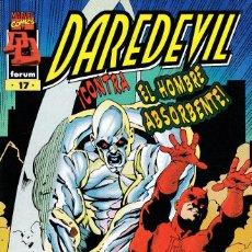Cómics: DAREDEVIL - VOL. 2 MARVEL EDGE - Nº 17 DE 22 - ¡SOLO CONTRA EL HOMBRE ABSORBENTE! - FORUM -. Lote 295511473