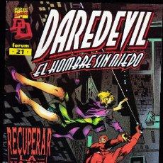 Cómics: DAREDEVIL - VOL. 2 MARVEL EDGE - Nº 21 DE 22 - NO HAY DESCANSO PARA EL MALVADO - FORUM -. Lote 295514613