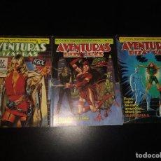 Cómics: COMICS FORUM - AVENTURAS BIZARRAS - NÚMEROS 01, 03 Y 04. Lote 295515043
