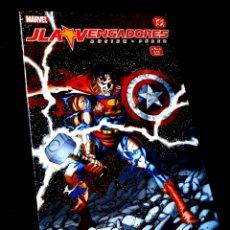 Cómics: EXCELENTE ESTADO JLA VENGADORES 4 COMICS FORUM MARVEL DC. Lote 295608808