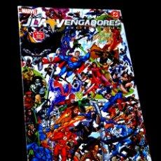 Cómics: EXCELENTE ESTADO JLA VENGADORES 3 COMICS FORUM MARVEL DC. Lote 295608953
