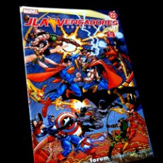 Cómics: EXCELENTE ESTADO JLA VENGADORES 2 COMICS FORUM MARVEL DC. Lote 295609103