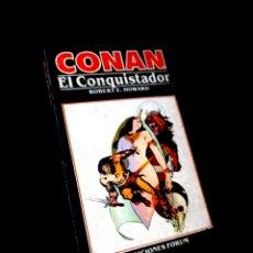 Cómics: MUY BUEN ESTADO NOVELA CONAN 9 EL CONQUISTADOR COMICS FORUM. Lote 295628848