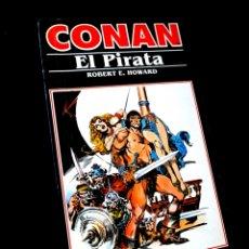 Cómics: MUY BUEN ESTADO NOVELA CONAN EL PIRATA COMICS FORUM. Lote 295629108