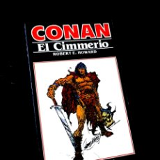 Cómics: MUY BUEN ESTADO NOVELA CONAN 2 EL CIMMERIO COMICS FORUM. Lote 295629403
