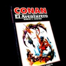 Cómics: CASI EXCELENTE ESTADO NOVELA CONAN 5 EL AVENTURERO COMICS FORUM. Lote 295629588
