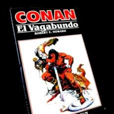 Cómics: CASI EXCELENTE ESTADO NOVELA CONAN 4 EL VAGABUNDO COMICS FORUM. Lote 295629773