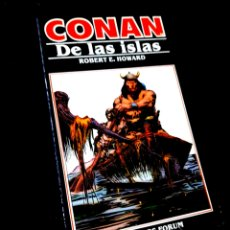 Cómics: EXCELENTE ESTADO NOVELA CONAN 12 DE LAS ISLAS COMICS FORUM. Lote 295630018