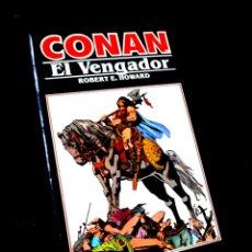 Cómics: EXCELENTE ESTADO NOVELA CONAN 10 EL VENGADOR COMICS FORUM. Lote 295630308