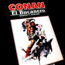 Cómics: EXCELENTE ESTADO NOVELA CONAN 6 EL BUCANERO FORUM. Lote 295631243
