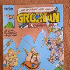 Cómics: GROONAN EL VAGABUNDO 3 FORUM. Lote 295903768