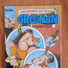 Cómics: GROONAN EL VAGABUNDO 5 FORUM. Lote 295903938