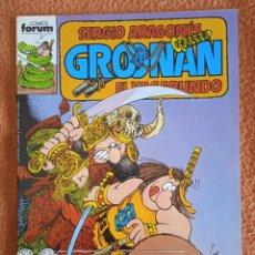 Cómics: GROONAN EL VAGABUNDO 6 FORUM. Lote 295904033