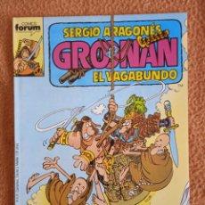 Cómics: GROONAN EL VAGABUNDO 10 FORUM. Lote 295904128