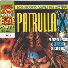 Cómics: LA PATRULLA X VOLUMEN 2. Nº 30. Lote 296596573