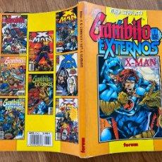 Cómics: ¡LIQUIDACION! PEDIDO MINIMO 5 EUROS - GAMBITO Y LOS EXTERNOS & X-MAN - OBRA COMPLETA - FORUM. Lote 296608923