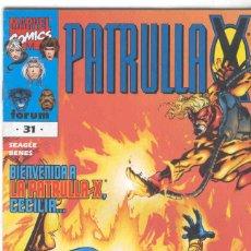 Cómics: LA PATRULLA X VOLUMEN 2. Nº 31. Lote 296622038