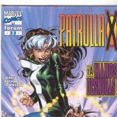 Cómics: LA PATRULLA X VOLUMEN 2. Nº 33. Lote 296622138