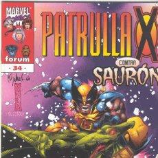 Cómics: LA PATRULLA X VOLUMEN 2. Nº 34. Lote 296622188