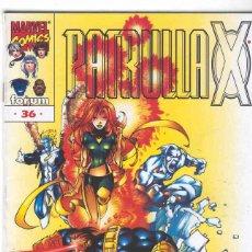 Cómics: LA PATRULLA X VOLUMEN 2. Nº 36. Lote 296622698