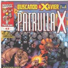Cómics: LA PATRULLA X VOLUMEN 2. Nº 43. Lote 296622933