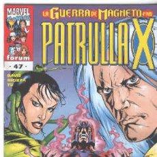 Cómics: LA PATRULLA X VOLUMEN 2. Nº 47. Lote 296623103