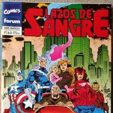 Cómics: LAZOS DE SANGRE (5 NÚMEROS COMPLETA). Lote 296630583