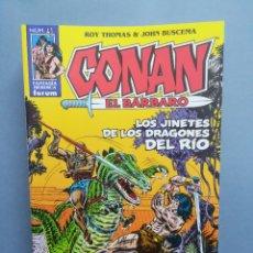 Cómics: CONAN EL BÁRBARO. Nº 61. EDICIÓN CRONOLÓGICA. FORUM. Lote 296744738