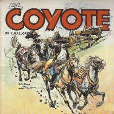 Cómics: EL COYOTE - 23 NºS - COMPLETA A FALTA DE UN NUMERO - FORUM - BUEN ESTADO. Lote 296781373