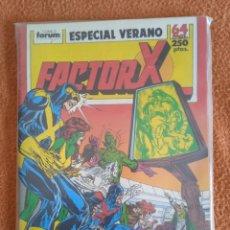 Cómics: EXTRA VERANO 1989 FACTOR X FORUM. Lote 296781798