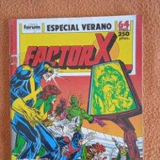 Cómics: ESPECIAL VERANO 1989 FACTOR X FORUM. Lote 296783413